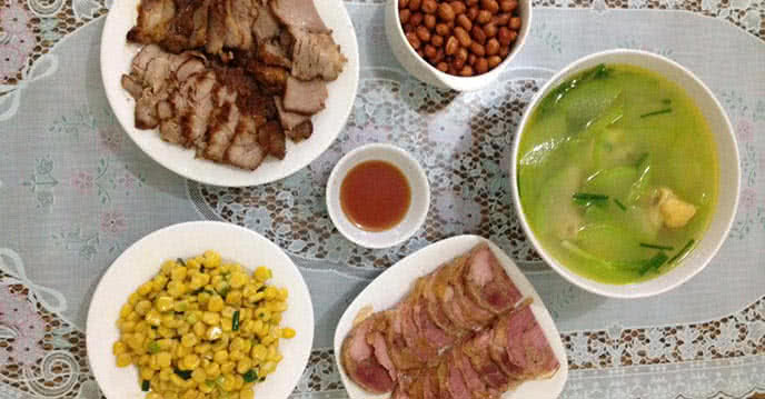 cả tháng không phải vắt óc nghĩ món ăn nhờ thực đơn 30 ngày hấp dẫn | hà thành foods - chuyên cung cấp dịch vụ suất ăn công nghiệp